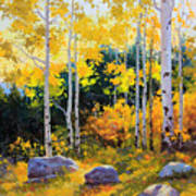 Autumn Beauty Of Sangre De Cristo Mountain Poster by Gary Kim