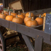 Autumn Farmstand Poster by John Burk