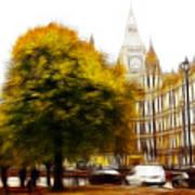 Autumn In London Poster by Stefan Kuhn