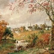 Autumn Landscape Poster by Jasper Francis Cropsey