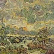 Autumn Landscape Poster by Vincent Van Gogh