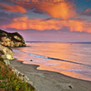 Avila Beach At Sunset Poster by Mimi Ditchie Photography