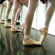 Ballet In Studio Poster by Chiara Costa