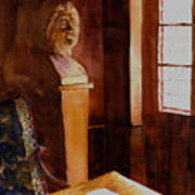 Balzac Napped Here. Poster by John Ressler