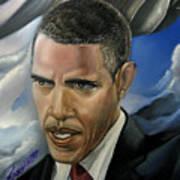 Barack Poster by Reggie Duffie