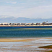 Barnstable Harbor Panorama Poster by Charles Harden