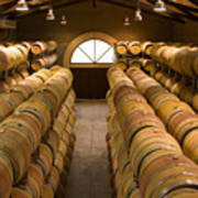 Barrel Room Poster by Eggers   Photography