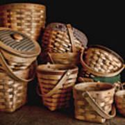 Basket Still Life 01 Poster by Tom Mc Nemar