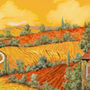 Bassa Toscana Poster by Guido Borelli