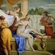 Bathsheba Bathing Poster by Sebastiano Ricci