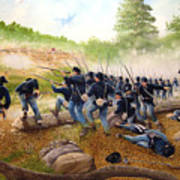 Battle Of Utoy Creek Poster by Marc Stewart