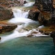 Beauty Creek Cascades Poster by Larry Ricker