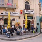 Bellusa Cafe No. 1 Poster by Sascha Meyer