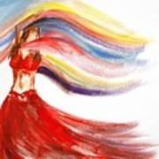 Belly Dancer 2 Poster by Julie Lueders