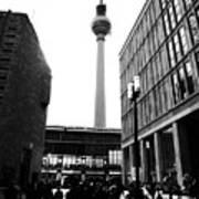 Berlin Street Photography Poster by Falko Follert