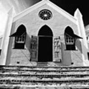 Bermuda Church Poster by George Oze