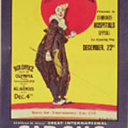 Bertram Mills Circus Poster Poster by Dudley Hardy