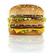 Big Mac Poster by Geoff George