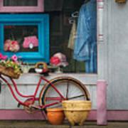 Bike - Lulu's Bike Poster by Mike Savad