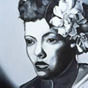Billie Holiday Poster by Kaaria Mucherera
