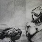 Bird Drama Poster by Brad Wilson