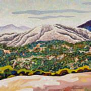 Birdseye Landscape #4 Poster by Dale Beckman
