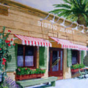 Bistro Jeanty Napa Valley  Poster by Gail Chandler