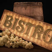 Bistro Still Life IIi Poster by Tom Mc Nemar