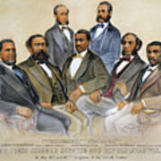 Black Senators, 1872 Poster by Granger