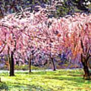 Blossom Fantasy Poster by David Lloyd Glover