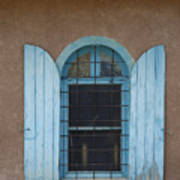 Blue Shutters Poster by Jerry McElroy