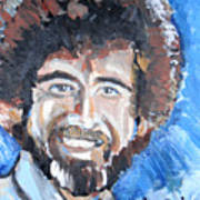 Bob Ross  Poster by Jon Baldwin  Art