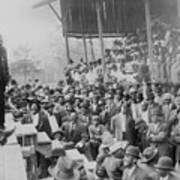 Booker T. Washington Addressing Poster by Everett