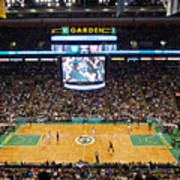 Boston Celtics Poster by Juergen Roth