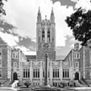 Boston College Gasson Hall Poster by University Icons