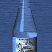 Bouteille De L'eau Poster by Andy  Mercer