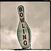 Bowling Poster by Photograph by Bob Travaglione FoToEdge