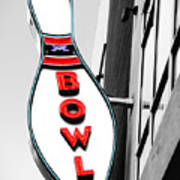 Bowling Poster by Steven  Michael