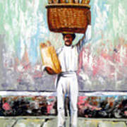 Breadman Poster by Jose Manuel Abraham
