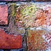 Brick Wall Poster by Roberto Alamino