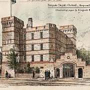 Brigade Depot Oxford England 1880 Poster by Ingrefs Bell