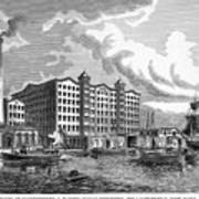 Brooklyn: Sugar Refinery Poster by Granger