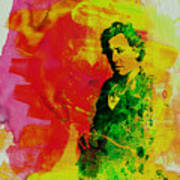 Bruce Springsteen Poster by Naxart Studio