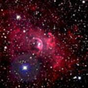 Bubble Nebula Poster by Jim DeLillo