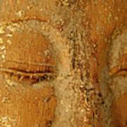 Buddha's Eyes Poster by Julia Hiebaum