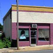 Burlington North Carolina - Small Town Business Poster by Frank Romeo