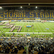 Cal Memorial Stadium On Game Day Poster by Replay Photos