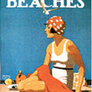 California Beaches Poster by Maurice Logan