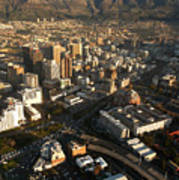Cape Town From The Air Poster by Andy Smy