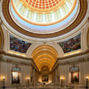 Capitol Interior II Poster by Ricky Barnard